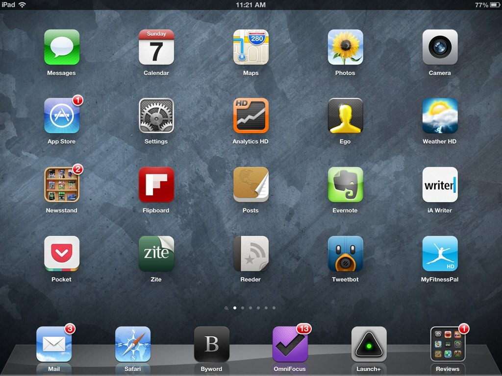 ipad home screen wallpaper zoomed in gallery