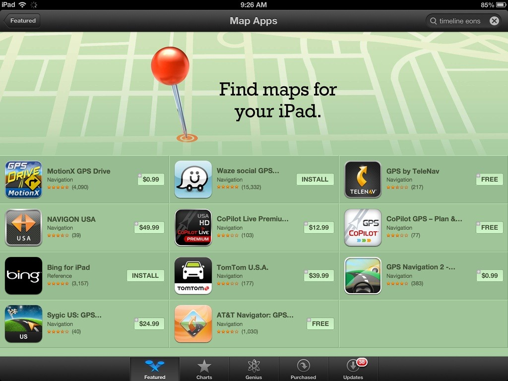 Looking For Better Maps For The IPad? There's An App Store Collection For That