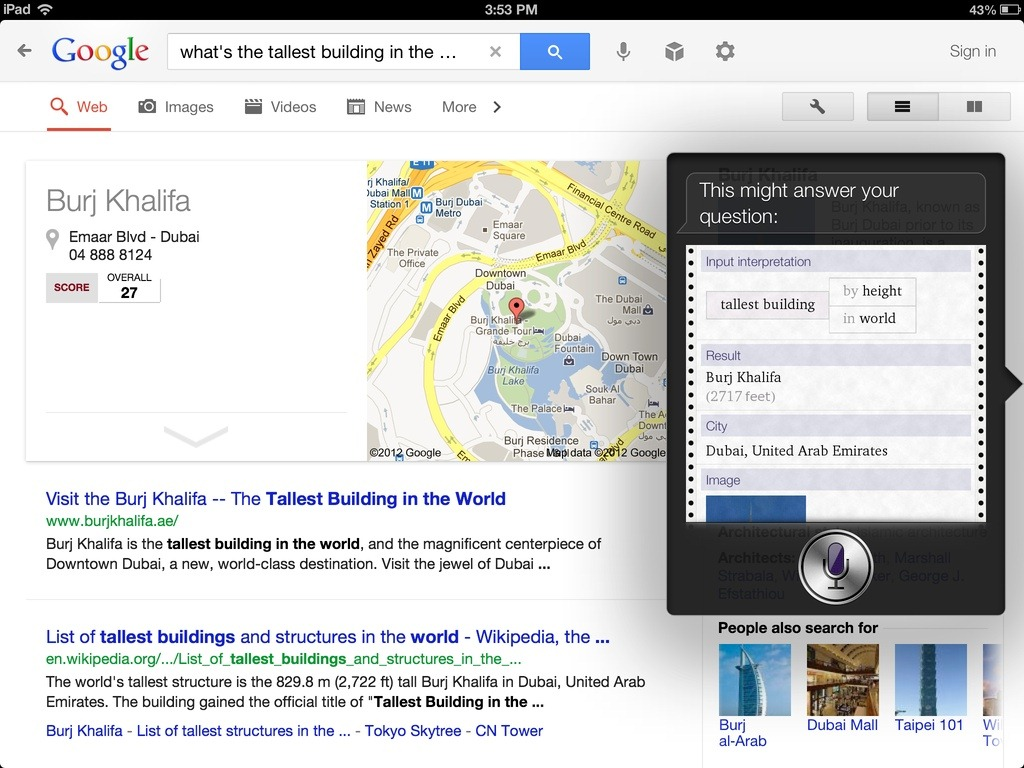 how to search google mail on ipad