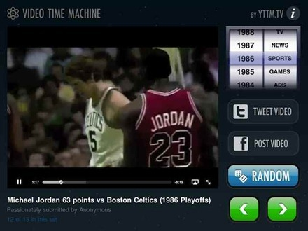 Video Time Machine iPad app