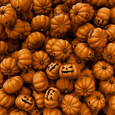 iPad Halloween Pumpkin wallpaper
