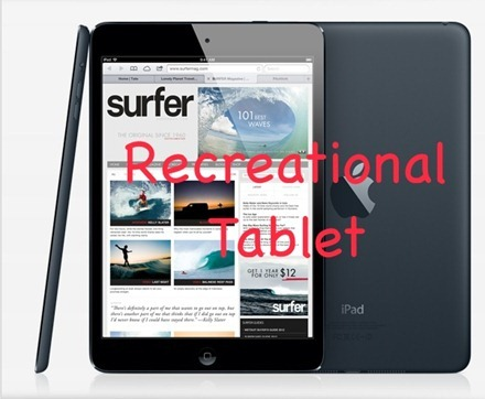 iPad Mini Recreational Tablet