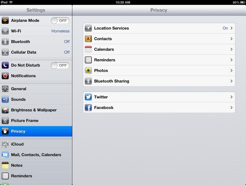 Image gallery ipad settings app for Apps to change photos