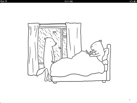 iPad in Bed