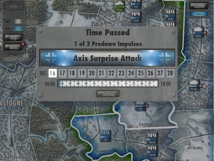Battle of the Bulge Axis attack