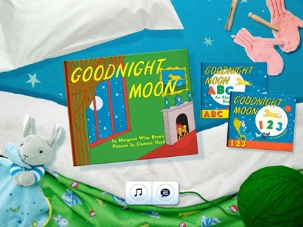 Goodnight Moon iPad app