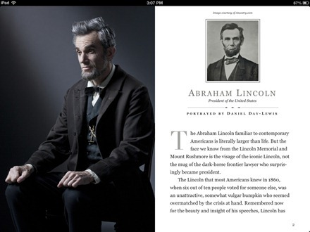Lincoln iBook