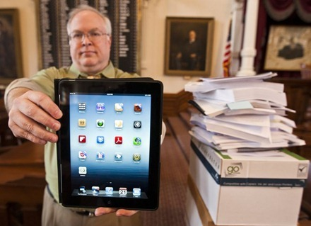 Texas Legislature iPad
