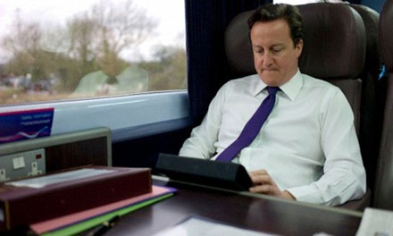 UK PM and iPad