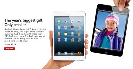 iPad mini Apple gift guide