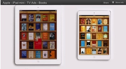 iPad mini Books TV ad