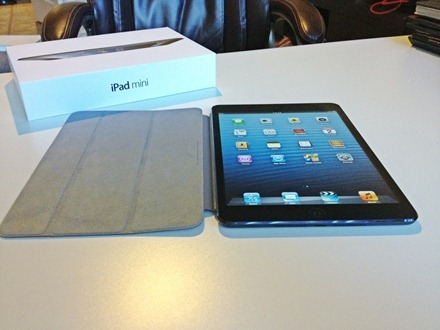 iPad mini and box