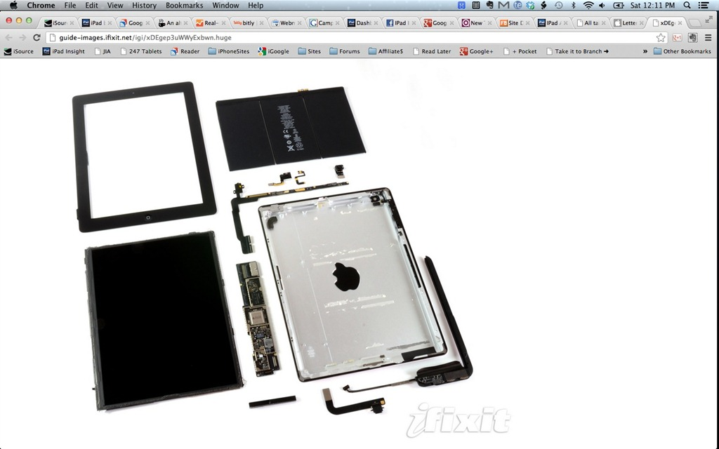 iPad 4th Gen Teardown: 1GB of RAM and No Surprises | iPad