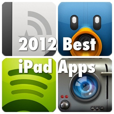 2012 Best ipad Apps