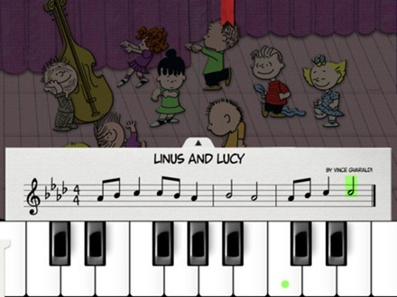 A CHarlie Brown Christmas iPad app