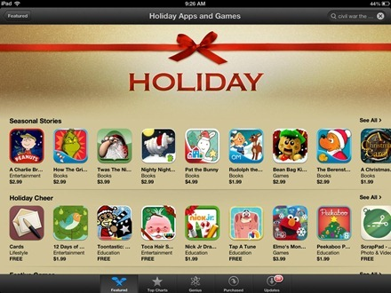 App Store Holiday Apps