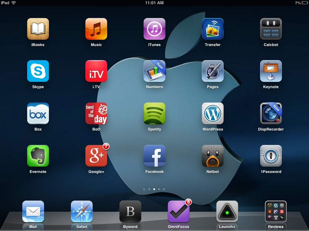 Weekend ipad wallpapers apple logos ipad insight for Best home screen wallpaper for ipad
