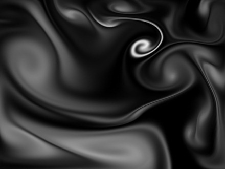 Black and White Fluid iPad Wallpaper