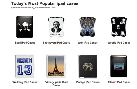 CafePress iPad cases