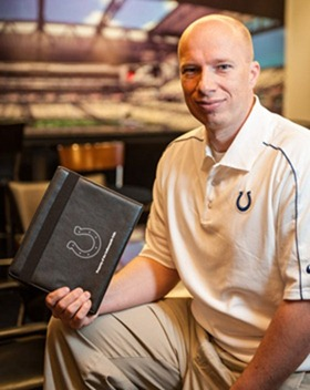 Ryan Fannin, the Colts' director of football information systems
