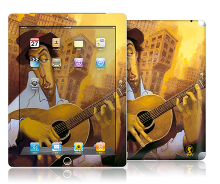 El Guitarista Gelaskin for iPad