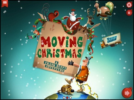Moving Christmas iPad Storybook