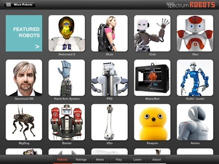 Robots for iPad