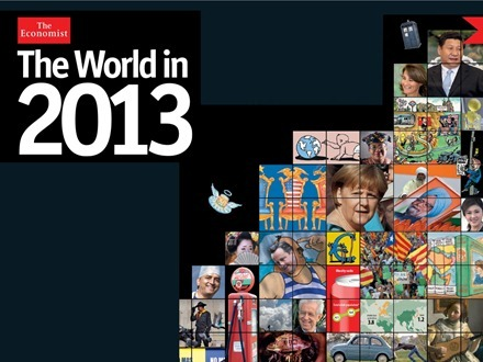 The World in 2013 from The Economist