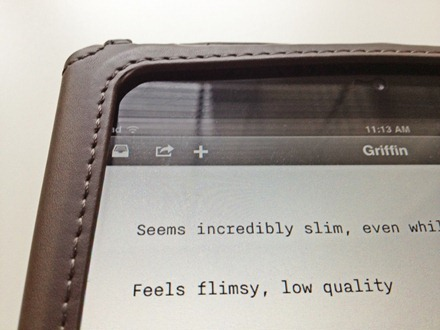 Griffin Slim Folio for iPad mini
