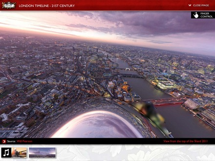 London a City Through Time iPad app