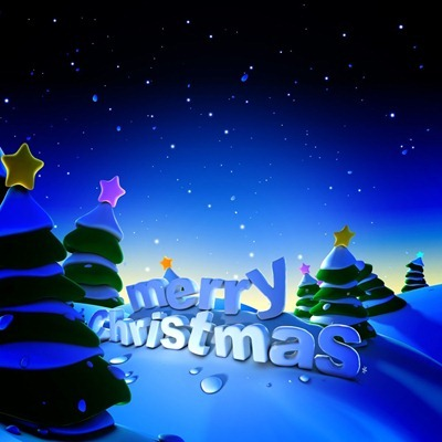 Xmas iPad wallpaper 1