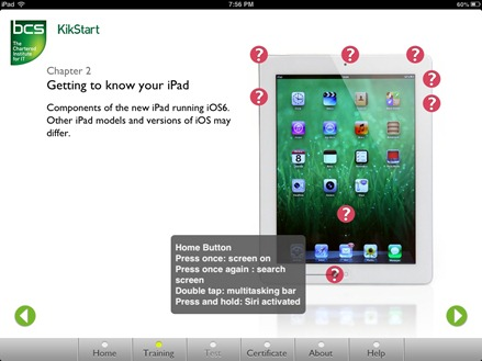 Kikstart for iPad