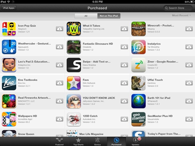 how to delete purchased apps from app store on ipad
