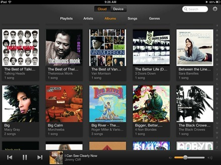Amazon Cloud Player for iPad