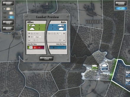 Battle of the Bulge iPad game