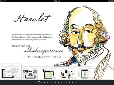 Hamlet The Shakesperience iBook