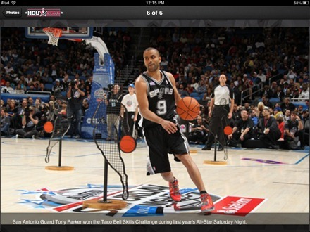 NBA All Star 2013 for iPad