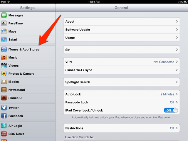 How to change payment on app store