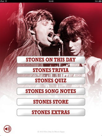 This Day in The Rolling Stones iPad App