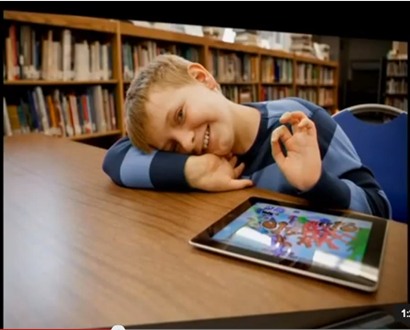 iPad in Use with Special Needs Children