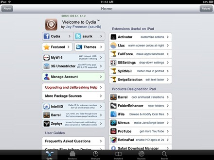 iPad mini Jailbreak