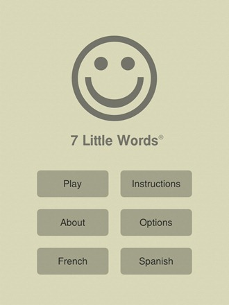 7 Little Words for iPad