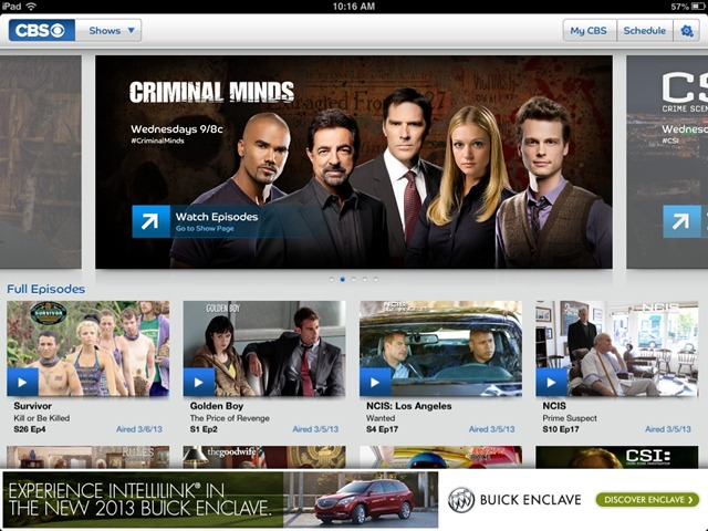CBS Launches Free Full Episodes Streaming App, But No Full Episodes for Big Bang Theory