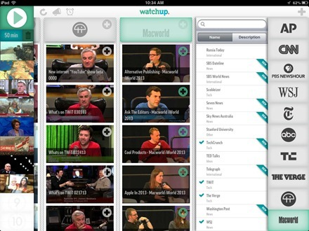 Watchup iPad App