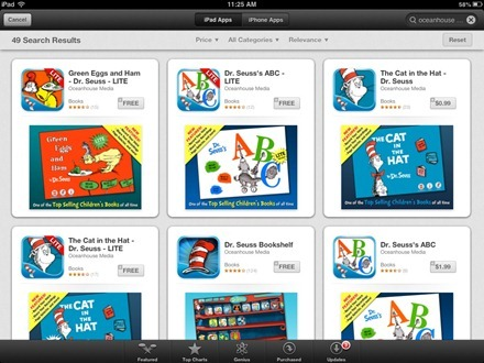 Dr. Seuss iPad apps