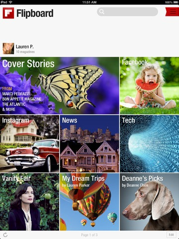 Flipboard 2.0 Update: Create Your Own Magazines & More