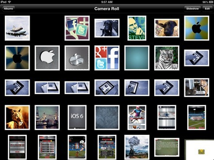 Remove images from iPad Camera Roll