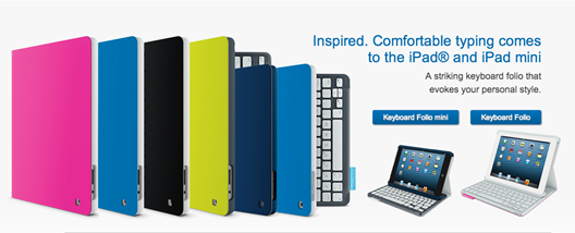 Logitech Keyboard Folio iPad Cases