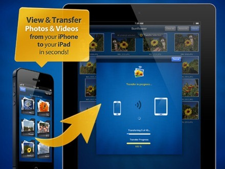 Photo Transfer App for iPad