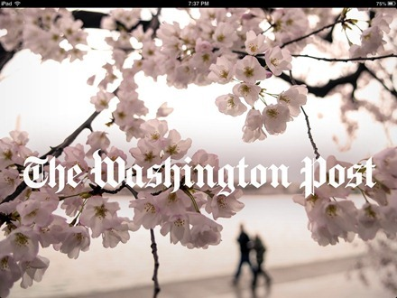 The Washington Post iPad app